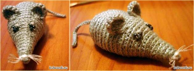 Мышка handmade. Вязание крючком. Искусство Амигуруми или почему важна плотность.