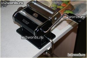 Паста-машина (лапшерезка) Marcato Atlas 150 Wellness. Часть 1 - Обзор и комплектация.
