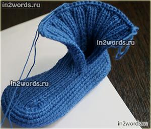 Пинетки для новорожденного малыша. Вязание крючком и спицами.