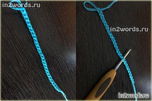 Эластичный набор петель для резинки 2х2 с дополнительной нитью. Вязание, мастер-класс.