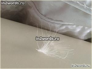"""Одеяло TAC """"Silky"""" (пух, перо). Обзор, отзыв и реальные фотографии."""