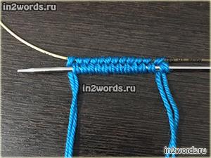 Описание со схемами вязания низких носков с косами от мыска. Вязание спицами.
