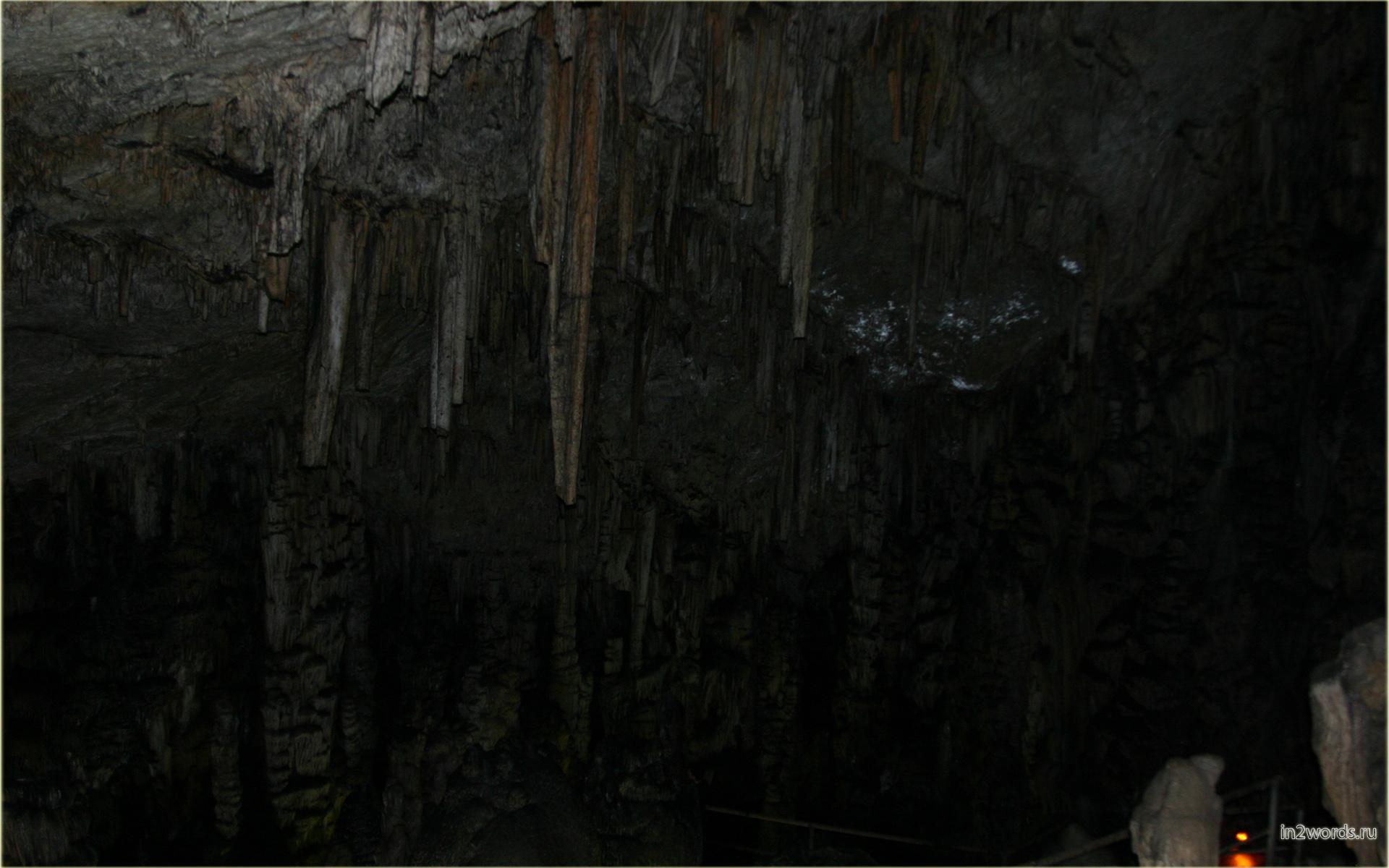 Пещеры острова Крит. Пещера Зевса. Греция.