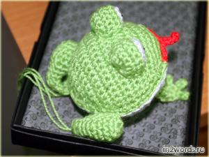 Лягушка handmade. Зачарованный принц. Вязание крючком. Искусство Амигуруми.