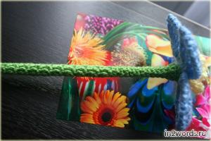 Цветок - волшебная палочка феи handmade. Вязание крючком.